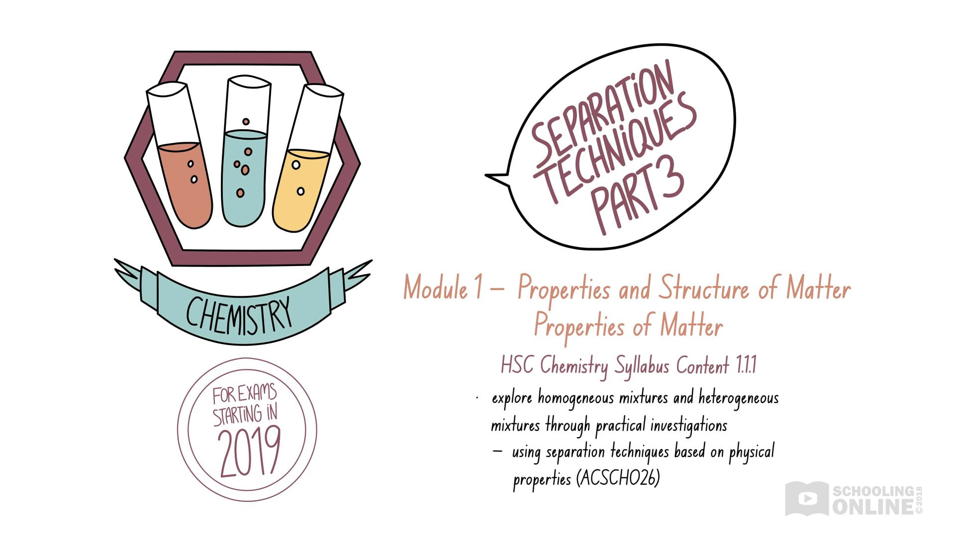 Separation Techniques 3 - Properties of Matter