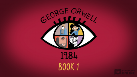 Book 1 Summary - 1984 - Powering Through Prose Series - George Orwell